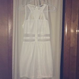 Super fun White dress !